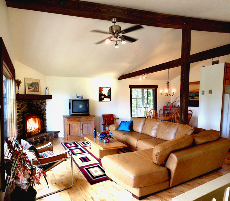 Wauwatosa Open Concept Family Room: Chalets Lauzon
